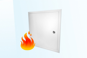 Fire Rated, Picture Frame Access Panel